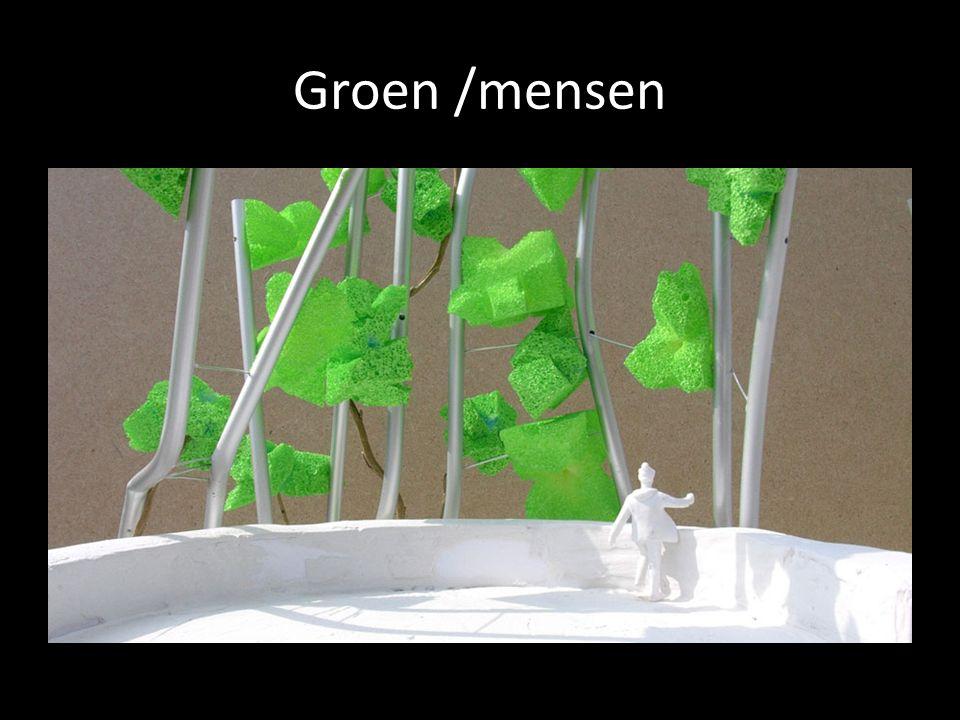 Groen /mensen