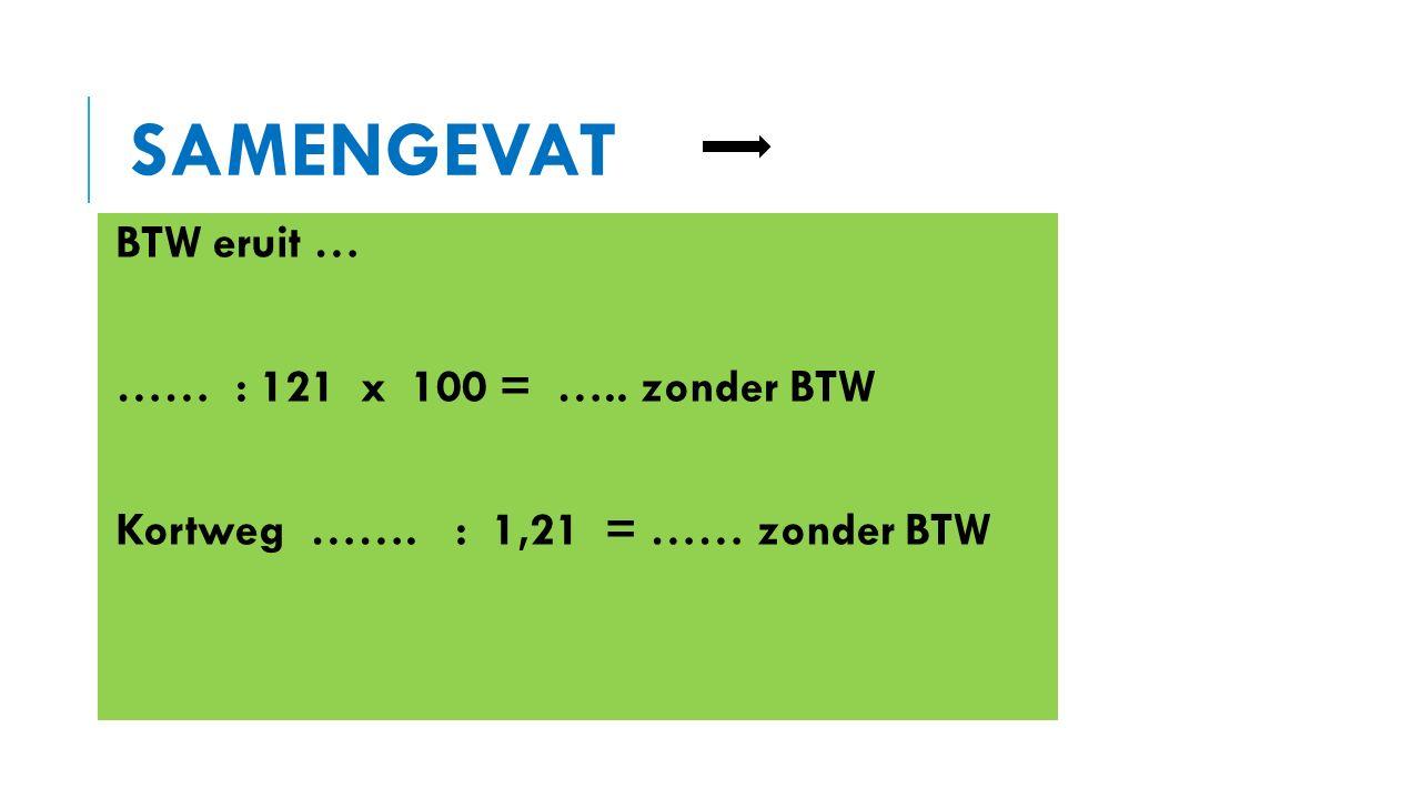 BTW TARIEVEN Vele handige REKENTIPS bij elkaar. A-6 formaat. De Rekenwaaier. www.uitgeverij-idee.nl