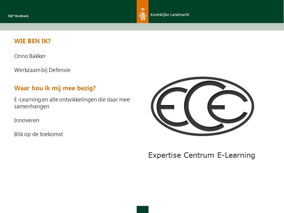 Koninklijke Landmacht 360° feedback WIE BEN IK.