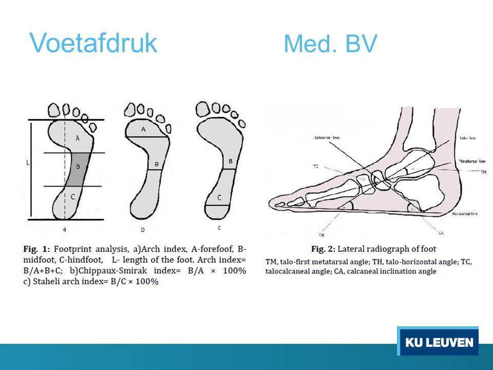 Voetafdruk Med. BV