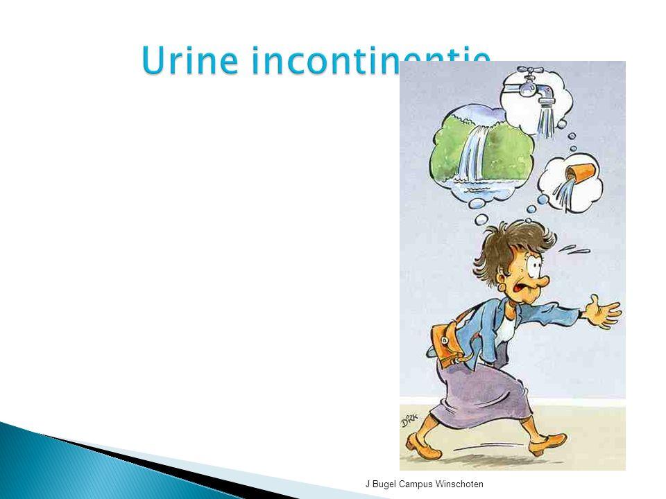 J Bugel Campus Winschoten Urine incontinentie