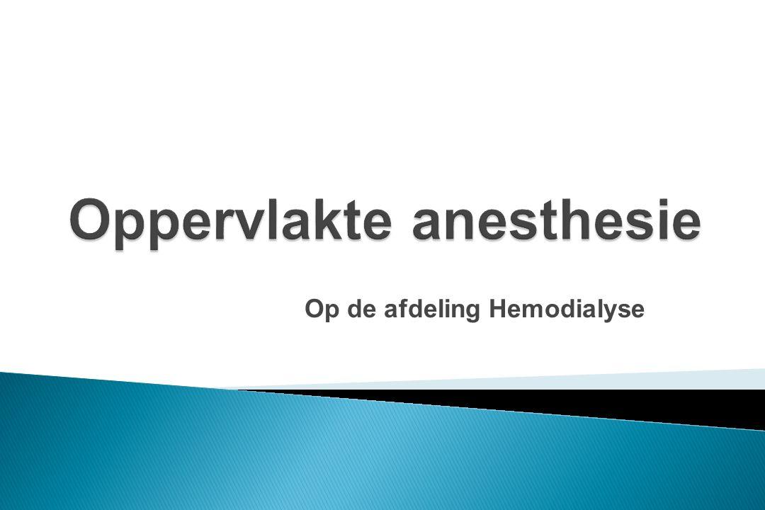 Op de afdeling Hemodialyse
