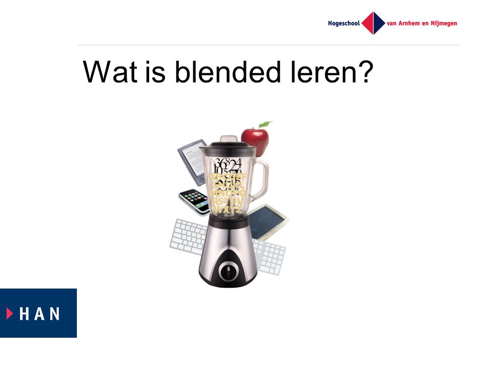 Wat is blended leren