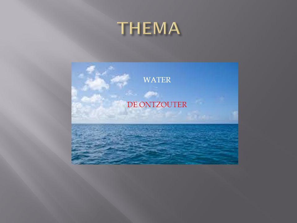 WATER DE ONTZOUTER