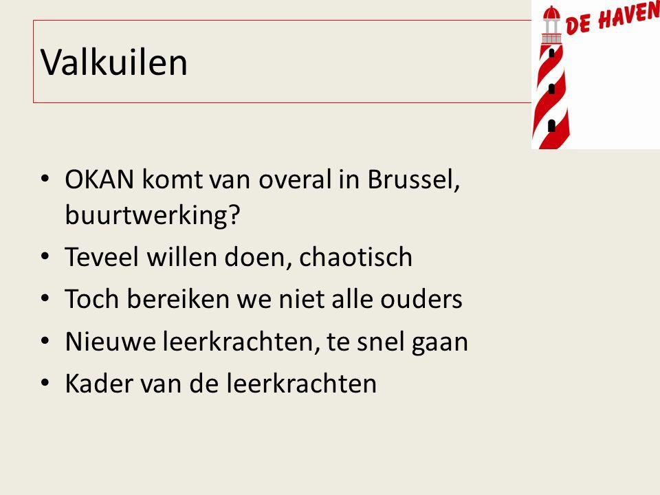 Valkuilen OKAN komt van overal in Brussel, buurtwerking.