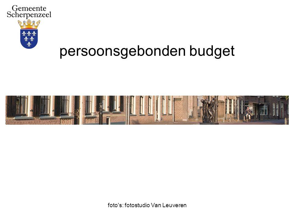 foto s: fotostudio Van Leuveren persoonsgebonden budget