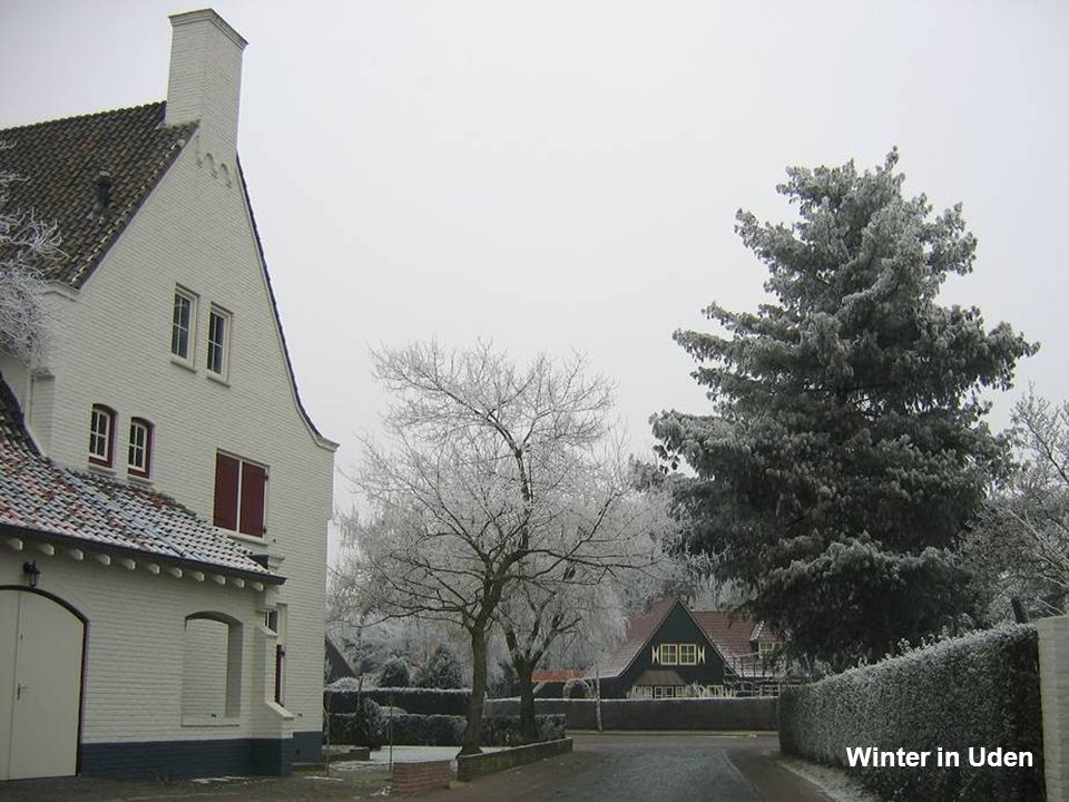 Winter in Uden
