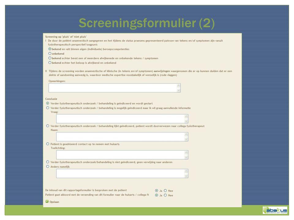 Screeningsformulier (2)