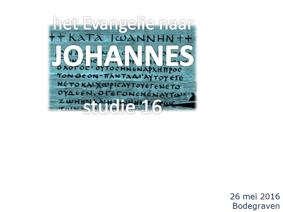 Johannes 5 36 Maar Ik heb een getuigenis, gewichtiger dan dat van Johannes...