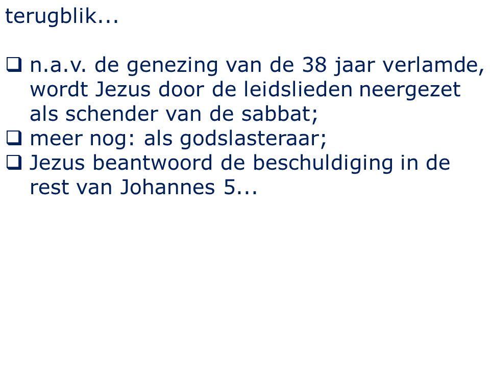 Johannes 5 36...