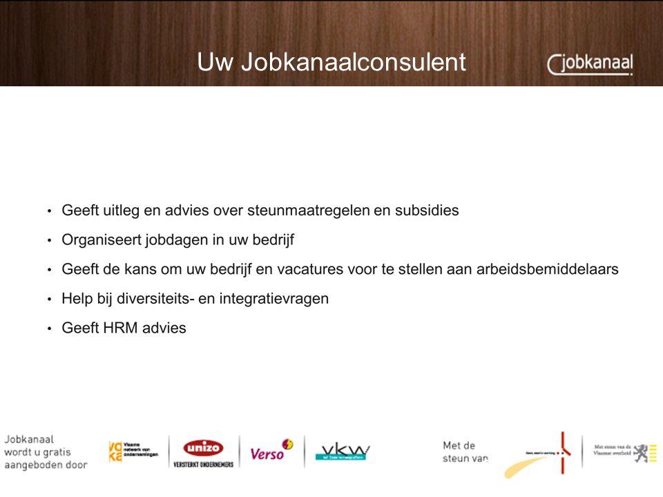 Uw Jobkanaalconsulent 9