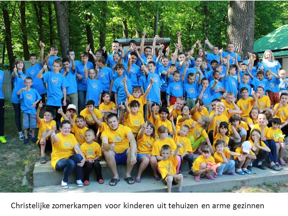 Christelijke zomerkampen voor kinderen uit tehuizen en arme gezinnen