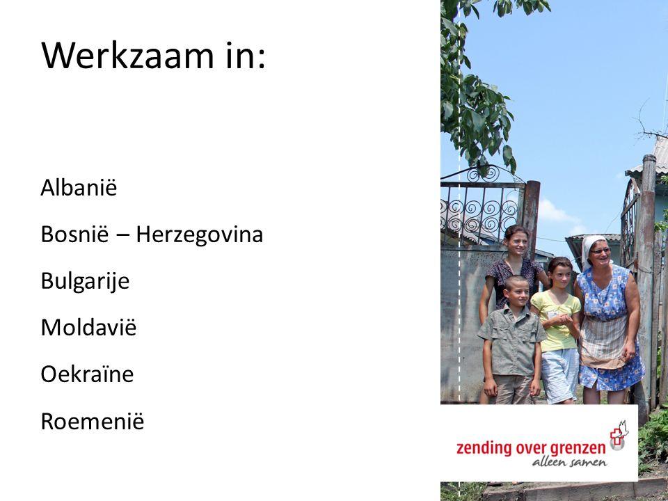 Werkzaam in: Albanië Bosnië – Herzegovina Bulgarije Moldavië Oekraïne Roemenië