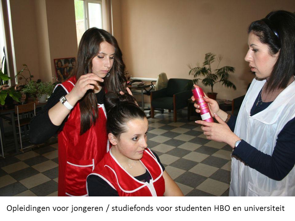Opleidingen voor jongeren / studiefonds voor studenten HBO en universiteit
