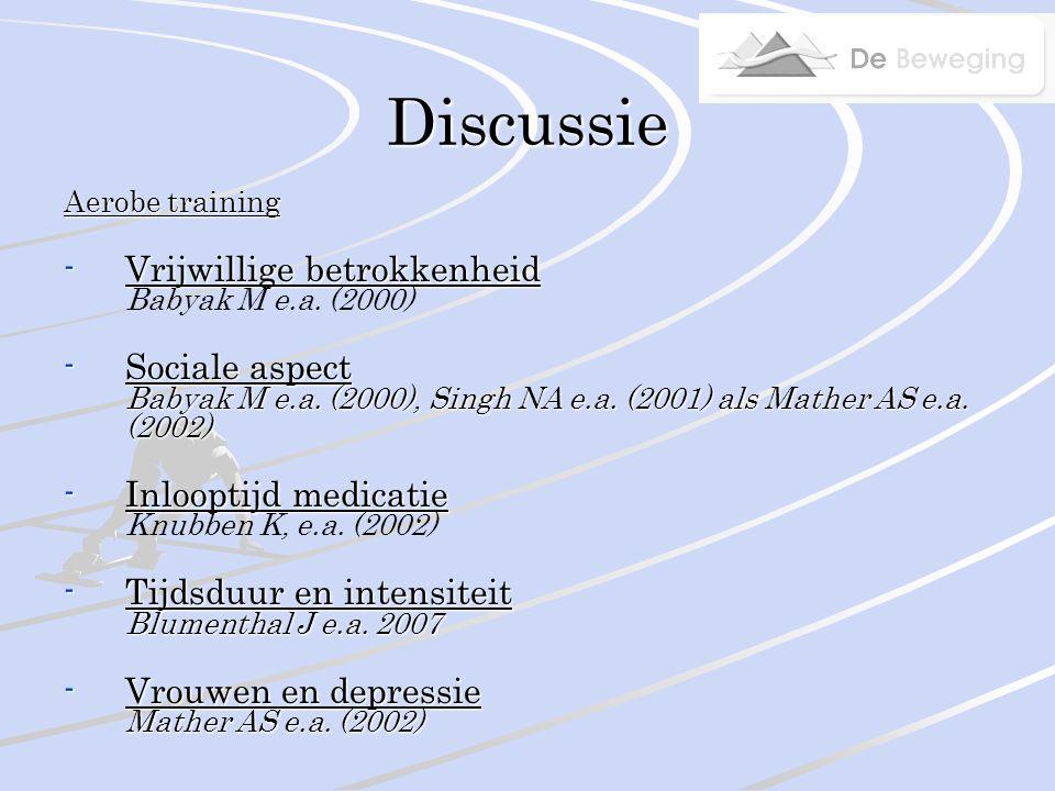 Discussie MBCT -Wanneer effectief.Ma SH e.a.
