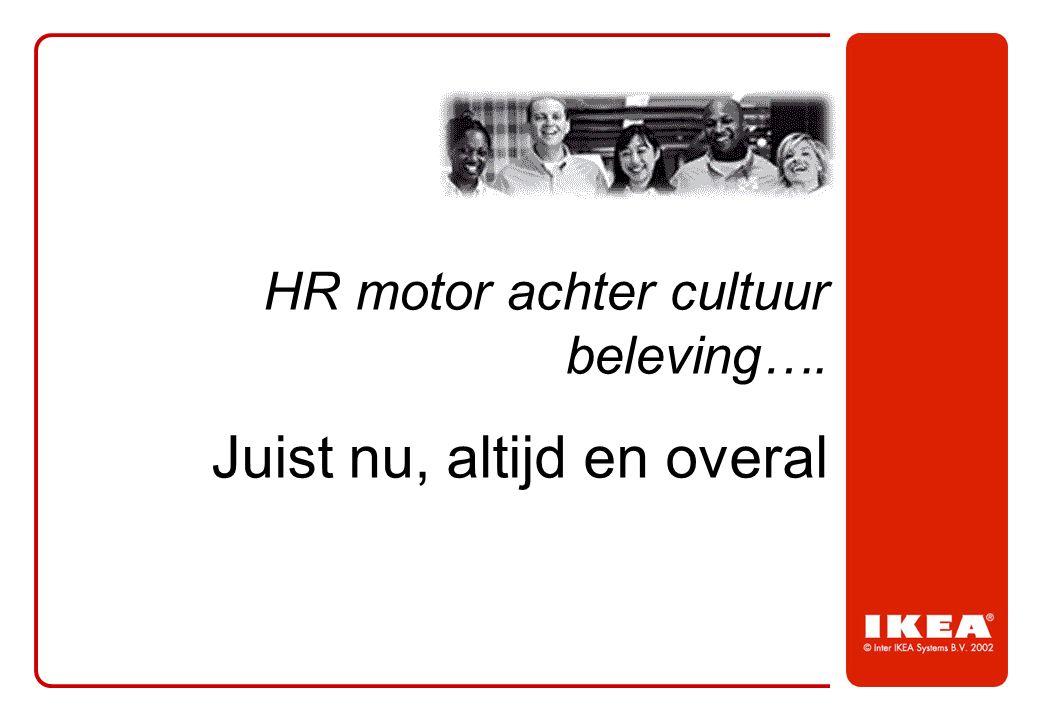 HR motor achter cultuur beleving…. Juist nu, altijd en overal