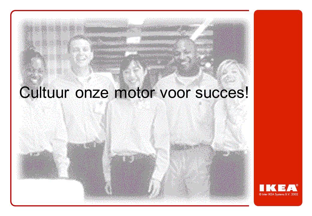 Cultuur onze motor voor succes!