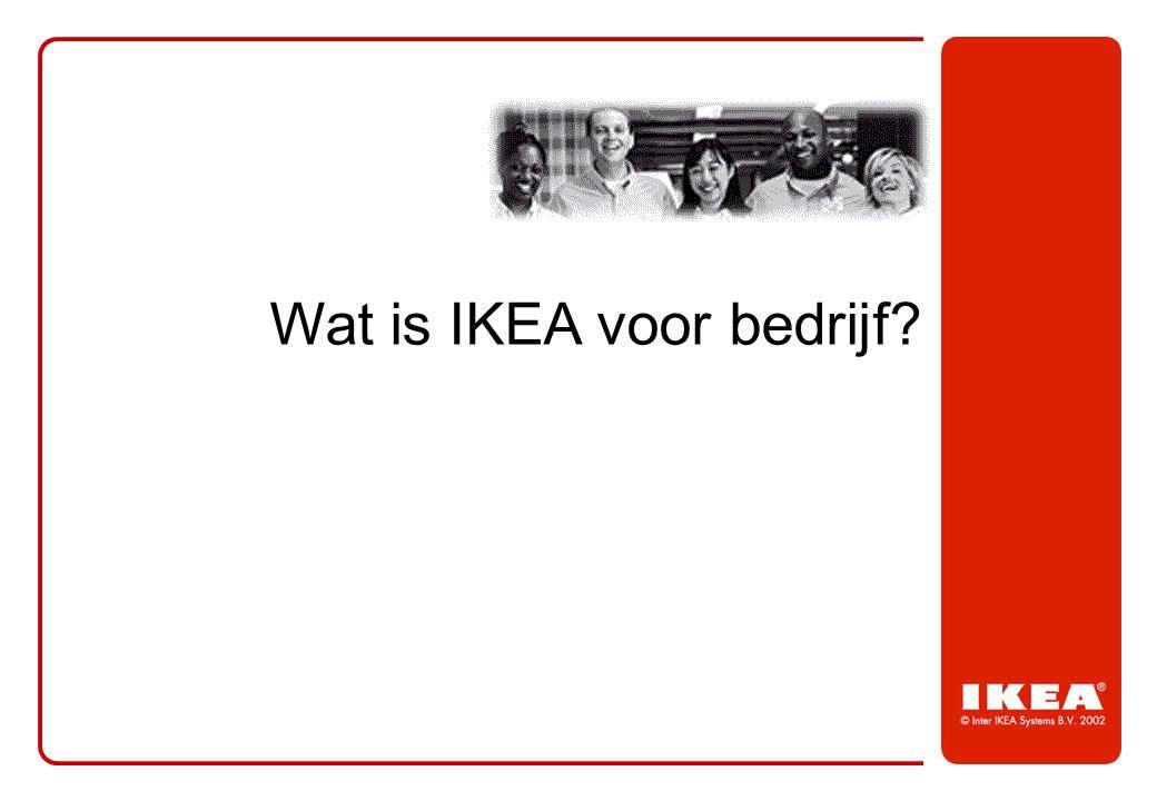 Wat is IKEA voor bedrijf