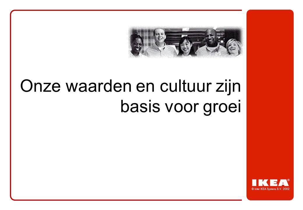 Onze waarden en cultuur zijn basis voor groei