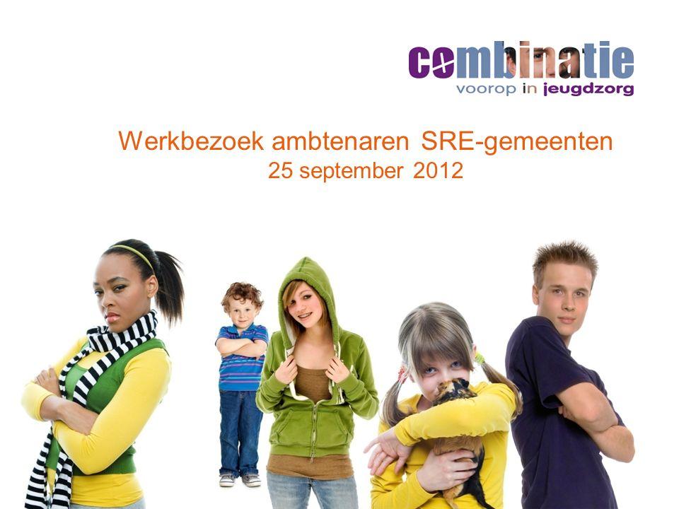 Werkbezoek ambtenaren SRE-gemeenten 25 september 2012