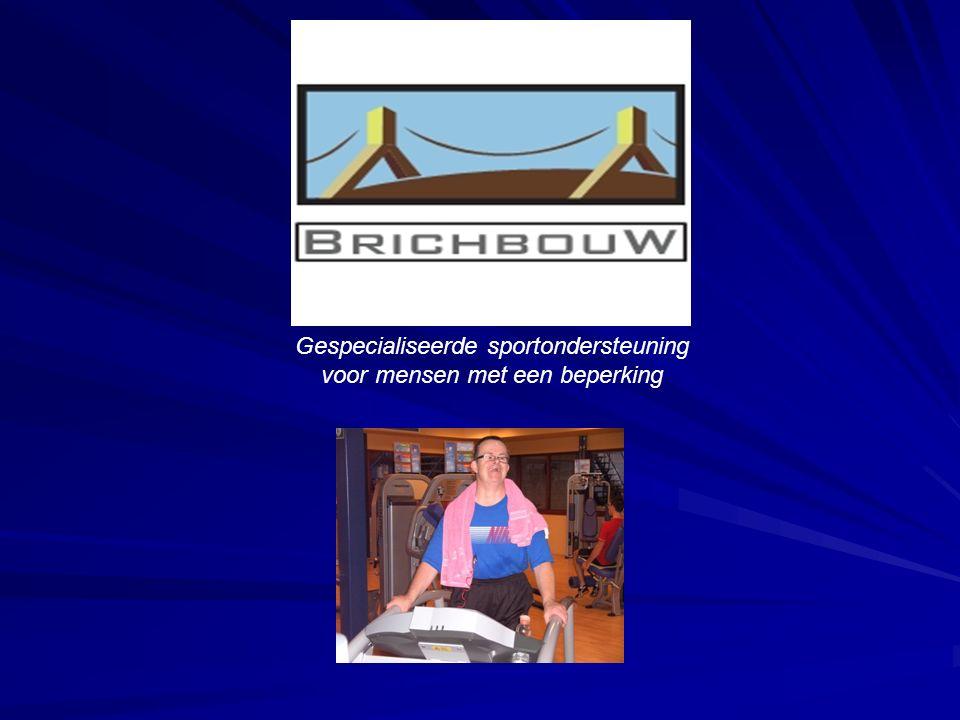Gespecialiseerde sportondersteuning voor mensen met een beperking