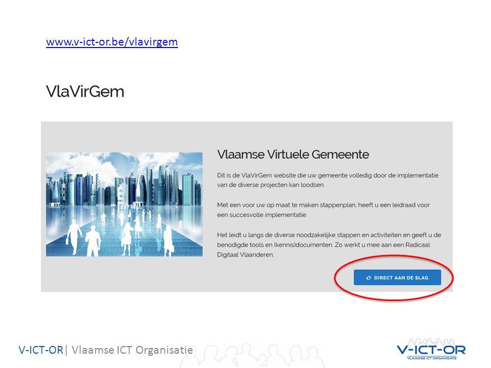 V-ICT-OR| Vlaamse ICT Organisatie www.v-ict-or.be/vlavirgem