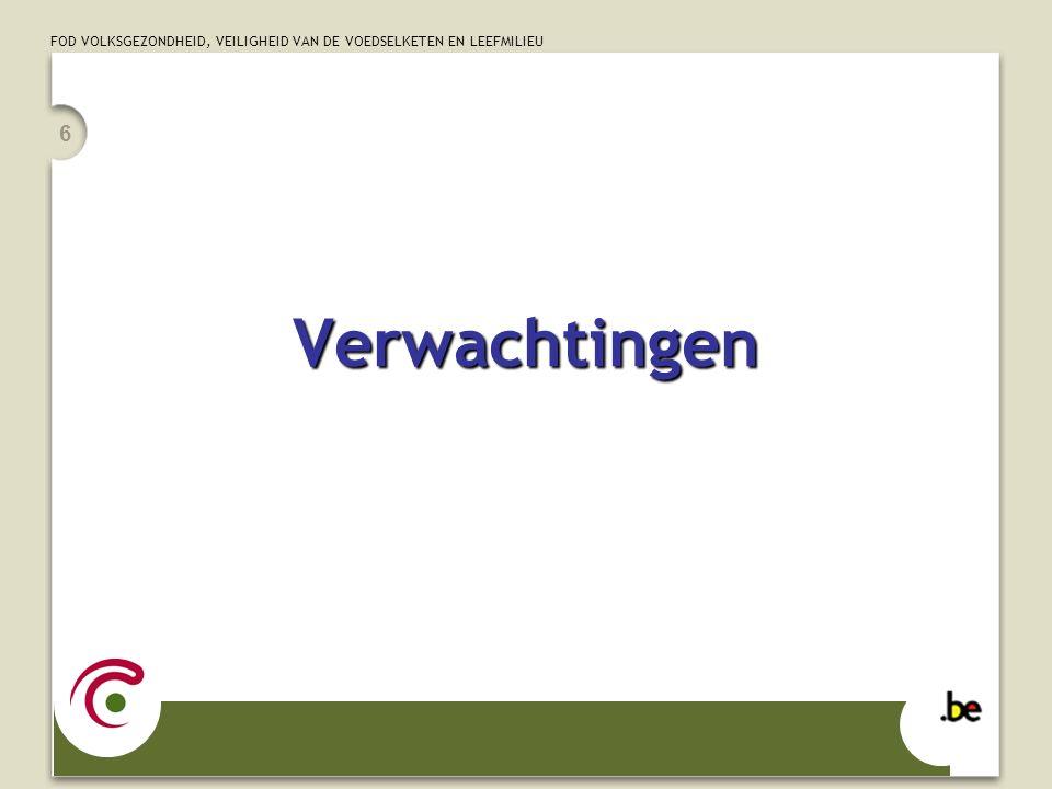 FOD VOLKSGEZONDHEID, VEILIGHEID VAN DE VOEDSELKETEN EN LEEFMILIEU 27 mandaat hernieuwdEGTT-mandaat hernieuwd Post-2012Post-2012 mee in EGTT-mandaat SBIfinanceNu ook op SBI-agenda (finance!) GEF strategic programmeGEF werkt een strategic programme uit voor financiering van TT EGTT