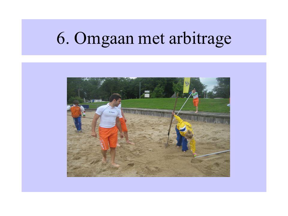 6. Omgaan met arbitrage