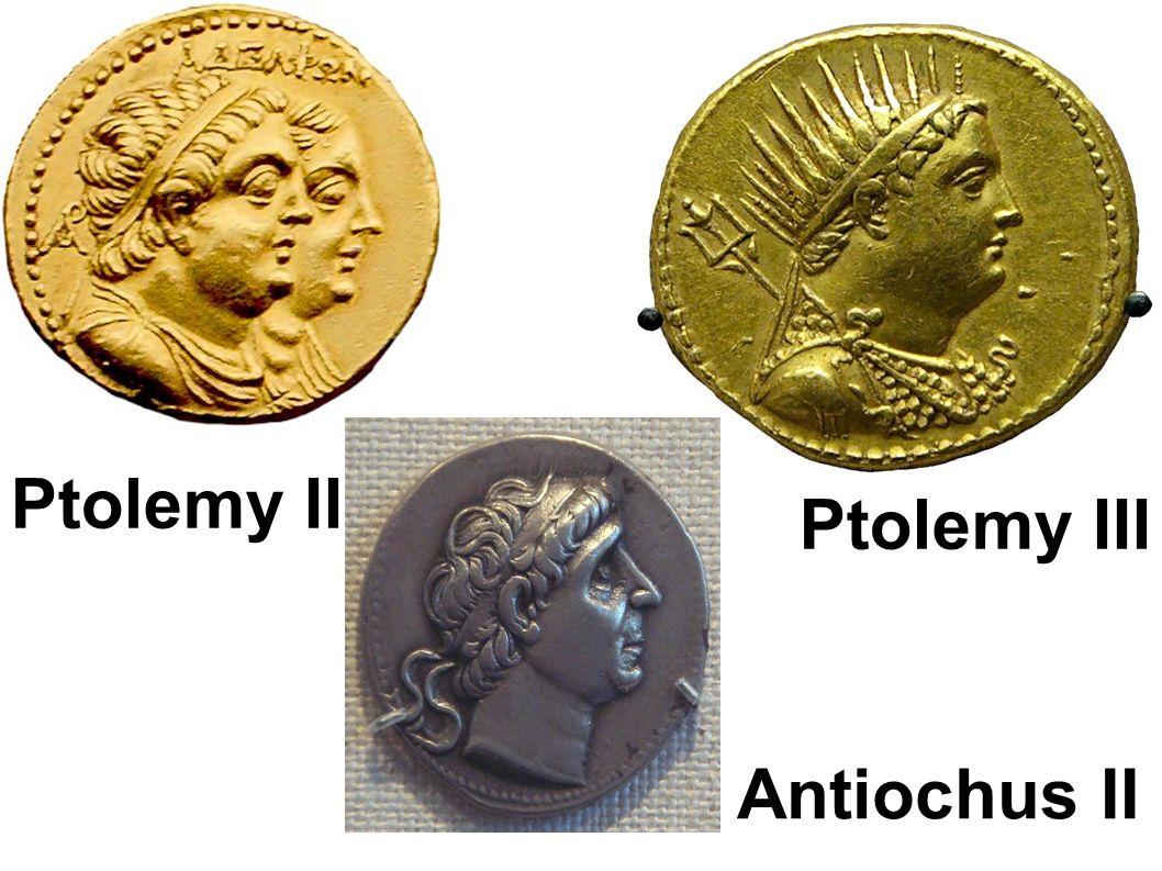 Ptolemy II Ptolemy III Antiochus II