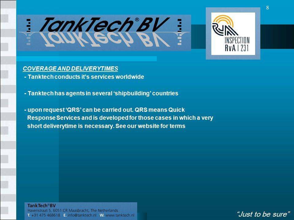 VolgendeVorige 9 SUMMARY - Tanktech operates worldwide.