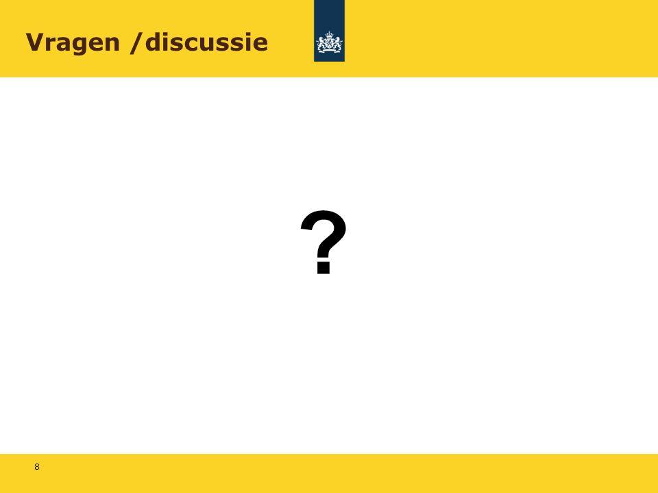 8 Vragen /discussie