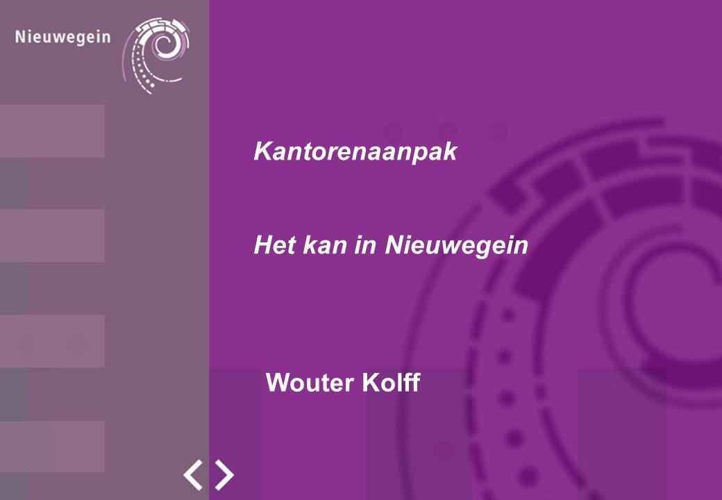 Wouter Kolff Kantorenaanpak Het kan in Nieuwegein