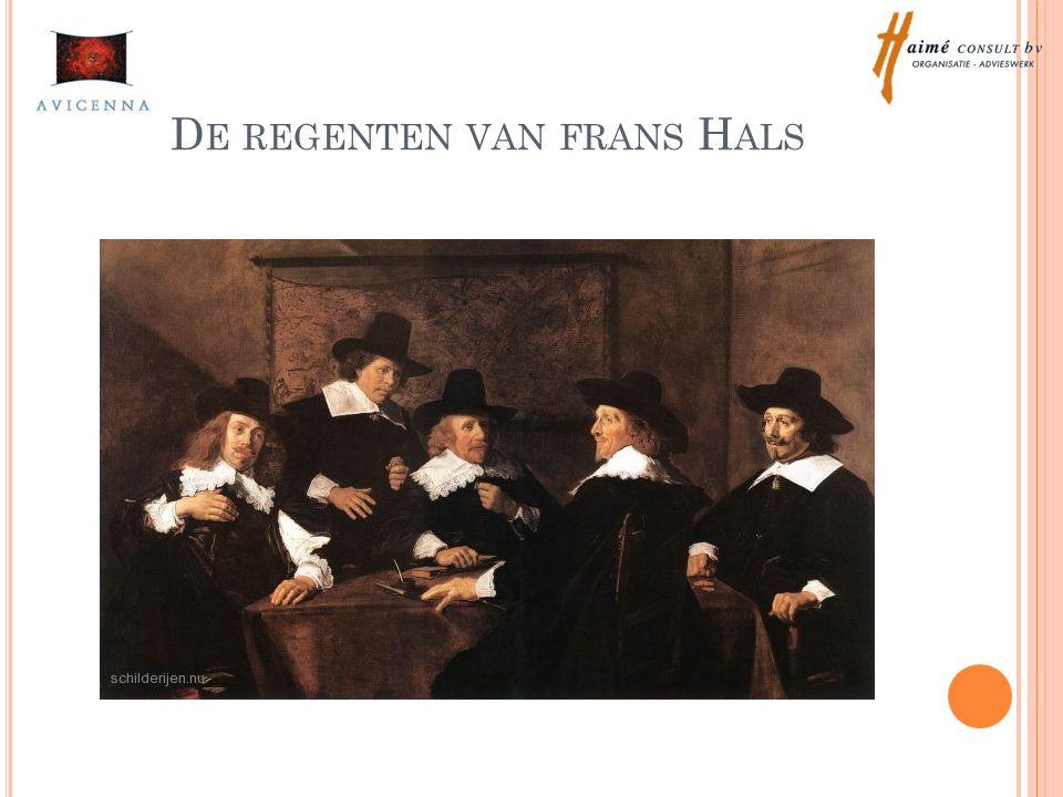 D E REGENTEN VAN FRANS H ALS