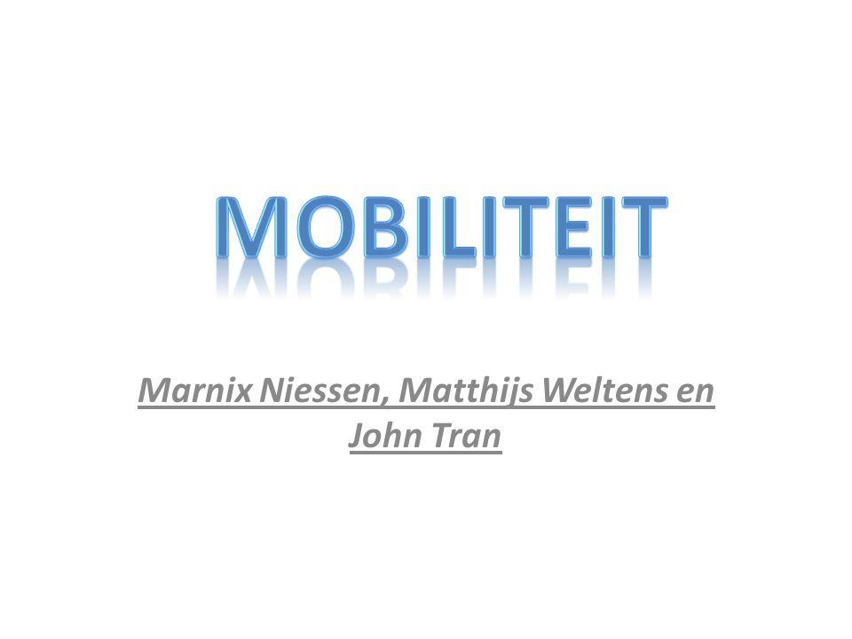Marnix Niessen, Matthijs Weltens en John Tran