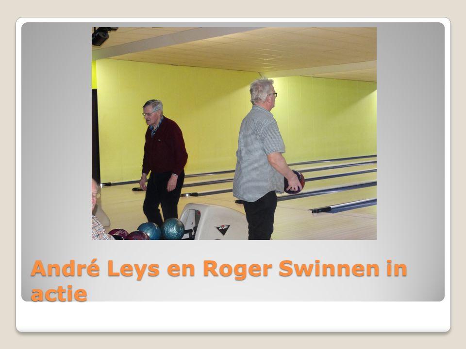 André Leys en Roger Swinnen in actie