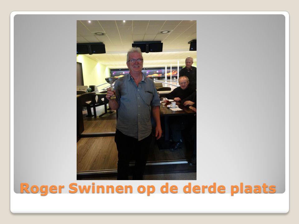 Roger Swinnen op de derde plaats