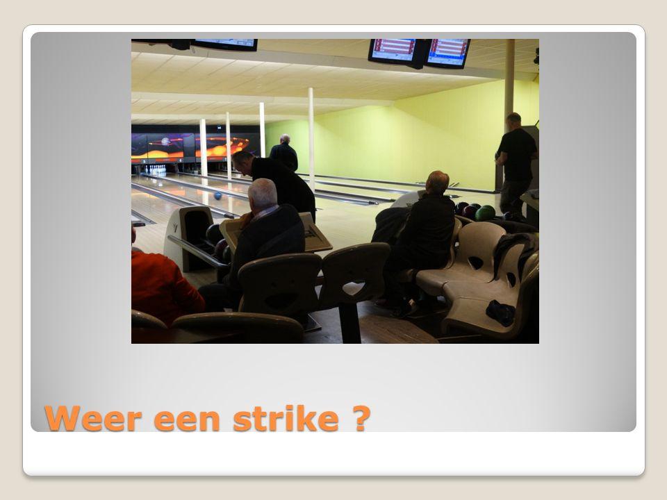 Weer een strike