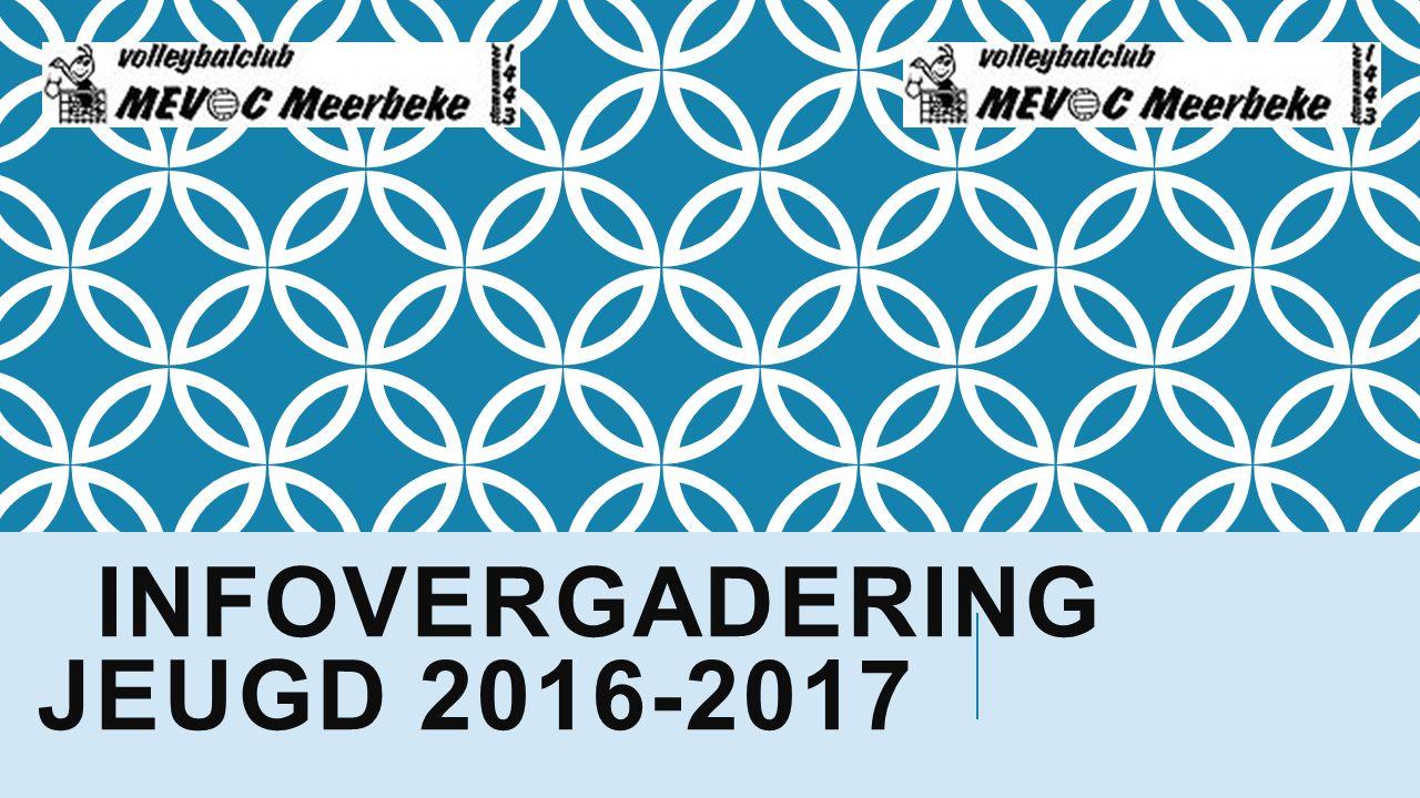 INFOVERGADERING JEUGD 2016-2017