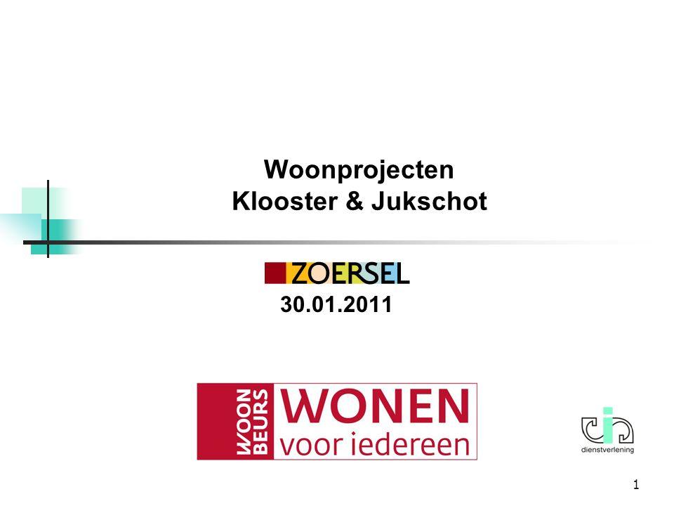 Woonprojecten Klooster & Jukschot 30.01.2011 1