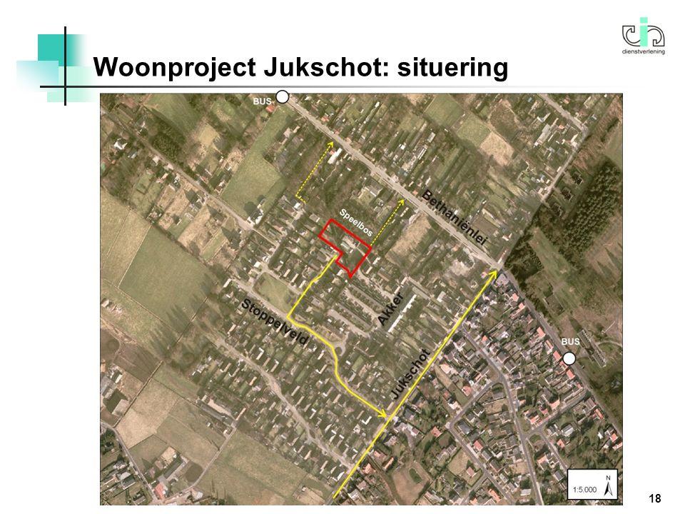 Woonproject Jukschot: situering 18