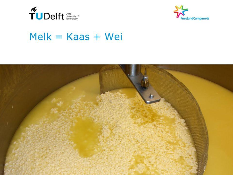 Melk = Kaas + Wei