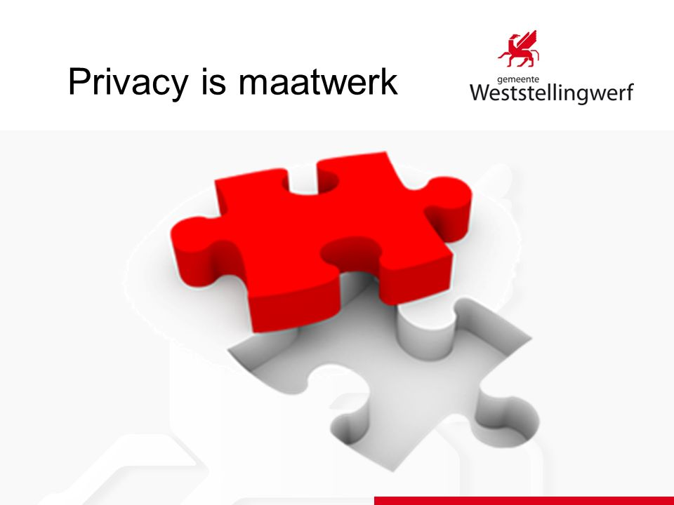 Privacy is maatwerk