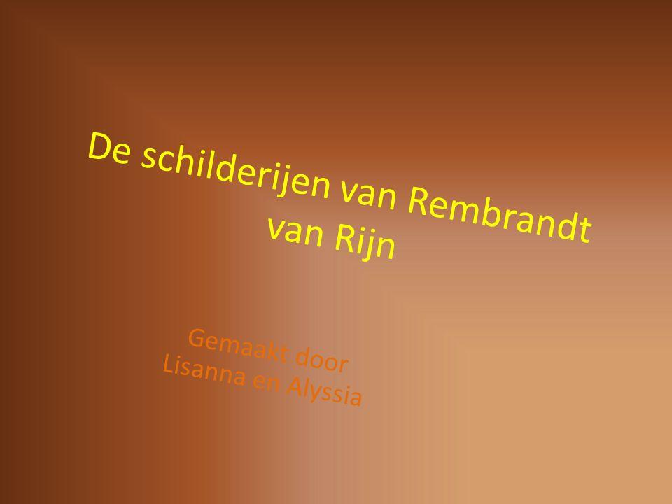 De inhoud 1.de nacht wacht dit is Rembrandt Van rijn De 1 e schilderijen Quiz Eind