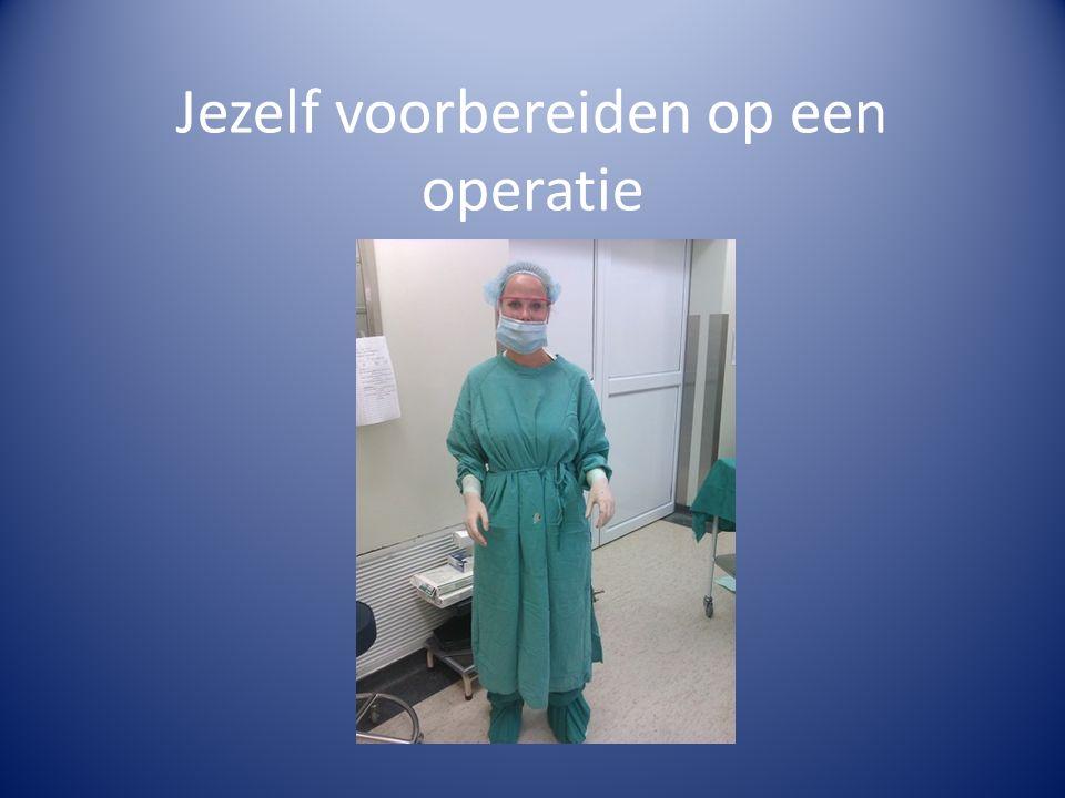 Jezelf voorbereiden op een operatie