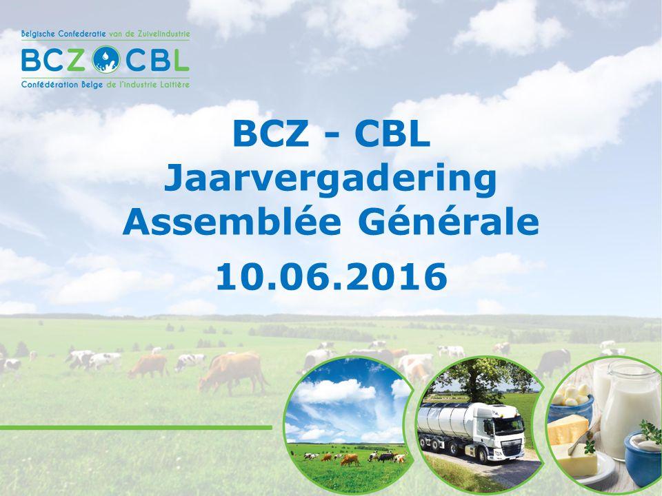 BCZ - CBL Jaarvergadering Assemblée Générale 10.06.2016