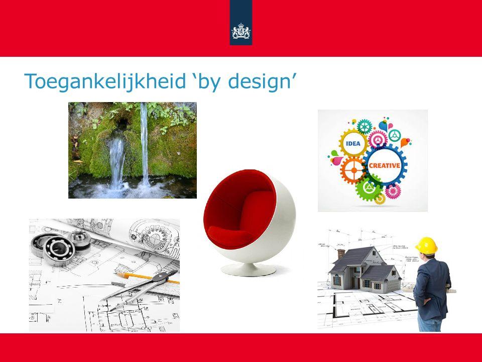 Toegankelijkheid 'by design'