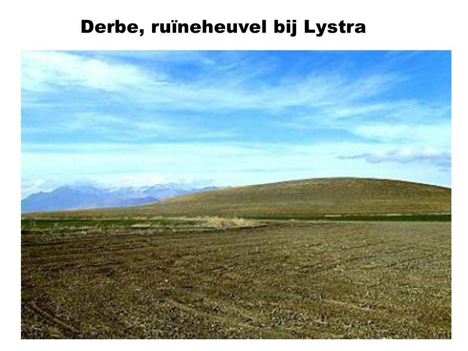 Derbe, ruïneheuvel bij Lystra