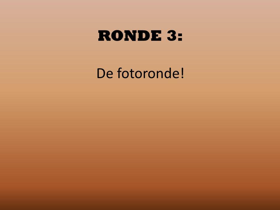 RONDE 3: De fotoronde!