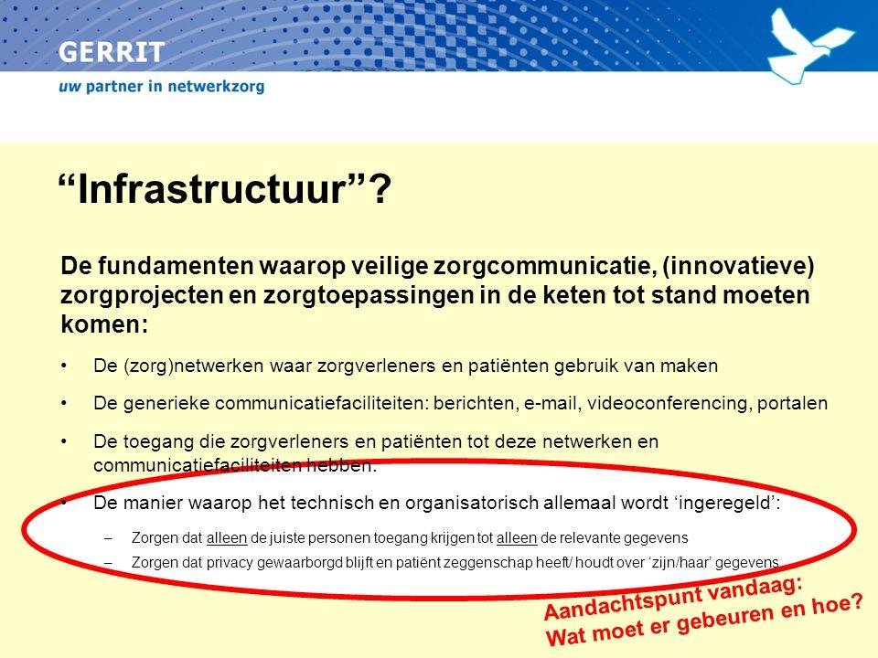 Infrastructuur .