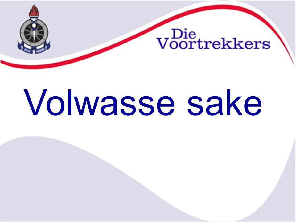 Volwasse sake
